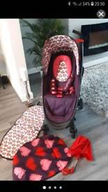 Cosatto hooded buggy