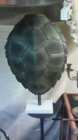Mounted black silver tortoise shell