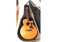 Tanglewood TW145SC - Cutaway semi-acoustic guitar (with option of Gator hard case)