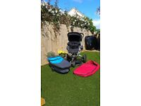 Quinny Buzz with footmuff & Carrycot