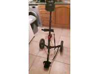 Masters 2 wheeled trolley with score card holder and big wheels £30