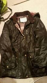 Indigo coat size 16