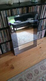 Jasper Conran smoked box mirror. Small cosmetic damage to corner. 71x97cm with box. was £160 new
