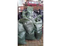 60 bags of soil