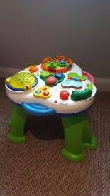 Chicco activity table toddler