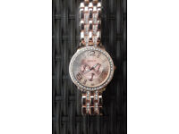 rose gold coloured watch brand new