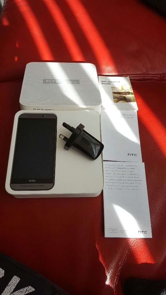 HTC One M9 Mobile Phone in Boxin Middlesbrough, North YorkshireGumtree - HTC One M9 Gunmetal Grey in box complete with manuals and charger I am selling phone as it is no longer needed. I purchased it in Aug 2016 so only just over a year old, was only used tho till Dec 2016 and then has been kept in the box since. Phone is...