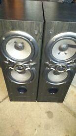 Kenwood 3 way speaker system