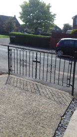 Drive gates and side gate