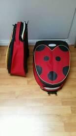 Kids Ladybird Travel Suitcase