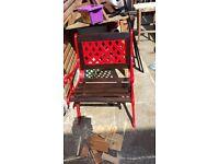 Case iron single seat grannie or granda seat