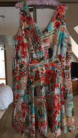 Fully Lined Dress from TU at Sainsburys size 20