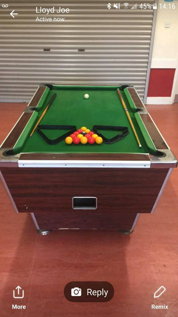 Wanted Pool Table In Cumnock East Ayrshire Gumtree - Pool table wanted