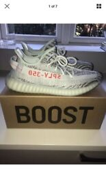 Yeezy blue Tint boost 360 v2 authentic