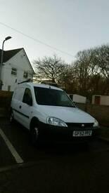 2002 Vauxhall combo 1.6 (Lpg) dual fuel van