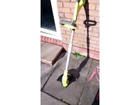 Ryobi OLT1831S ONE+ 18 V Cordless Grass Trimmer with EasyEdge..bare unit no battery.. excellent cond