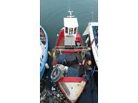 23 foot fishing boat
