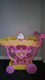 Beauty and the beast tea trolley