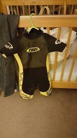 Wet suit and sun suit