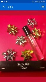 Dior Sauvage man perfumes pocket size 33 ml