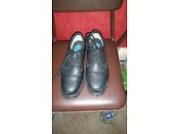 Dr Martens size 11 saftey toe cap shoes.