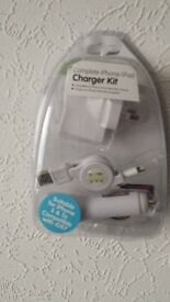 Complete Iphone/Ipad charger Kit.