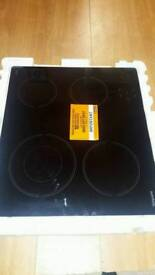 HOTPOINT HR 612 C H Electric Ceramic Hob - Black brand new never used
