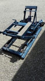 Motorcycle lift/jack SOLD
