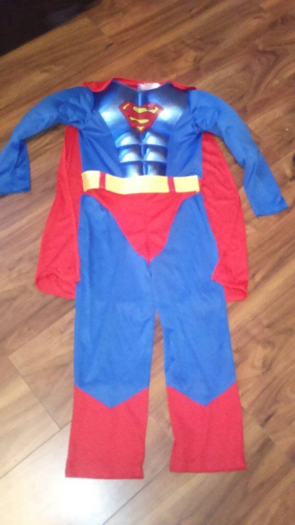 age 7 8 superman outfitin Seaham, County DurhamGumtree - age seven to eight superman dress up outfit good clean condition from a smoke and pet free home