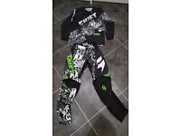 Moto cross top and trousers