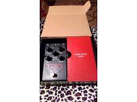 Trio guitar pedal