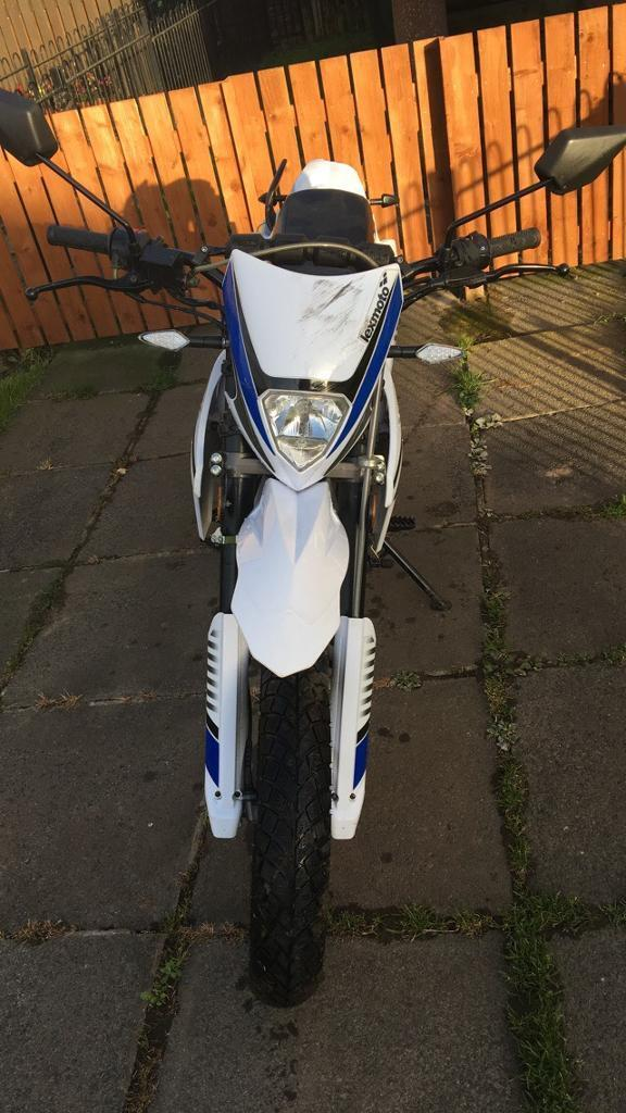 Lexmoto adrenaline 125cc 2016 plate