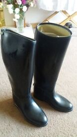 Aigle cross coutry style horse riding boots