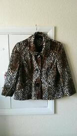 Brand new h&m leaped print jacket