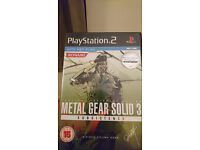 Metal Gear Solid 3 Subsistence - PS2 - PAL