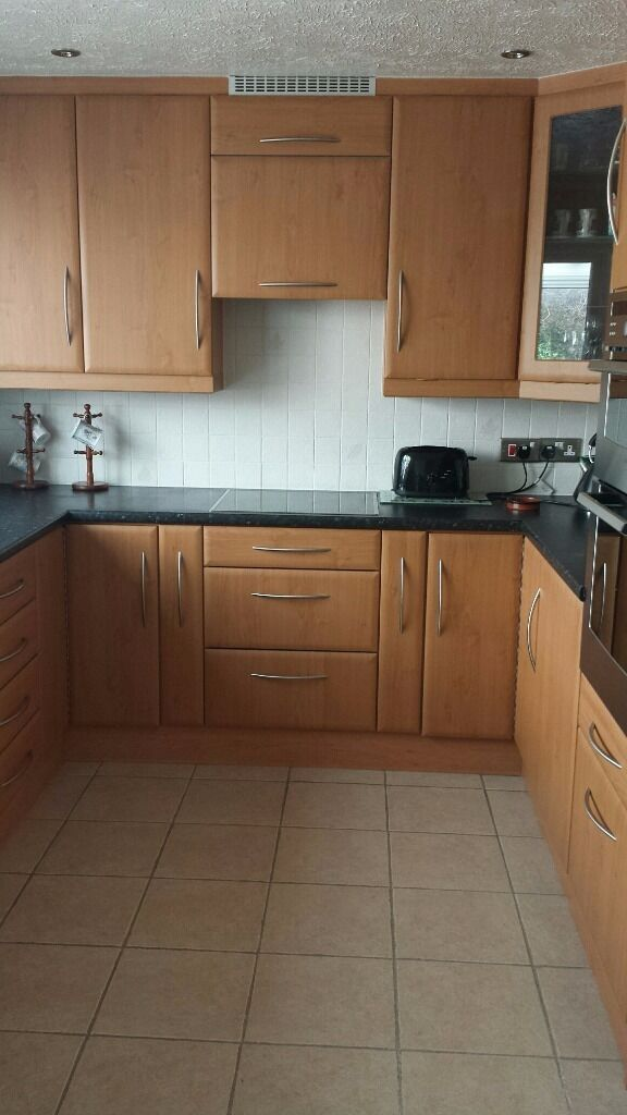 Kitchen units beech with buy sale and trade ads great for Beech effect kitchen units