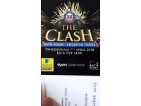 Rugby Tickets - The Clash at Twickenham, Bath v Leicester - 7 April