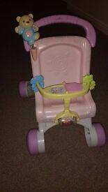 Fisher Price musical dolls pram - baby walker