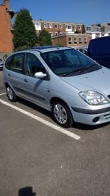 1 owner from new,,Renault Megan scenic 1.6 2001