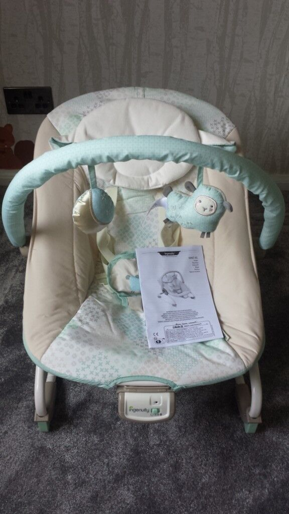 Astounding New Without Box Ingenuity Lullaby Lamb Baby Rocking Vibrating Bouncer Seat Chair In Washington Tyne And Wear Gumtree Inzonedesignstudio Interior Chair Design Inzonedesignstudiocom