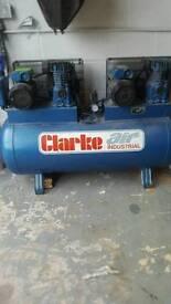 Clarke compresser