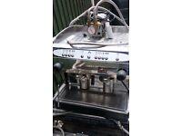 Costa compact 2 group coffee machine