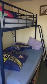 Highsleeper with sofa or double bed underneath