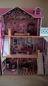 kidcraft Amelia wooden dolls house - fab condition!