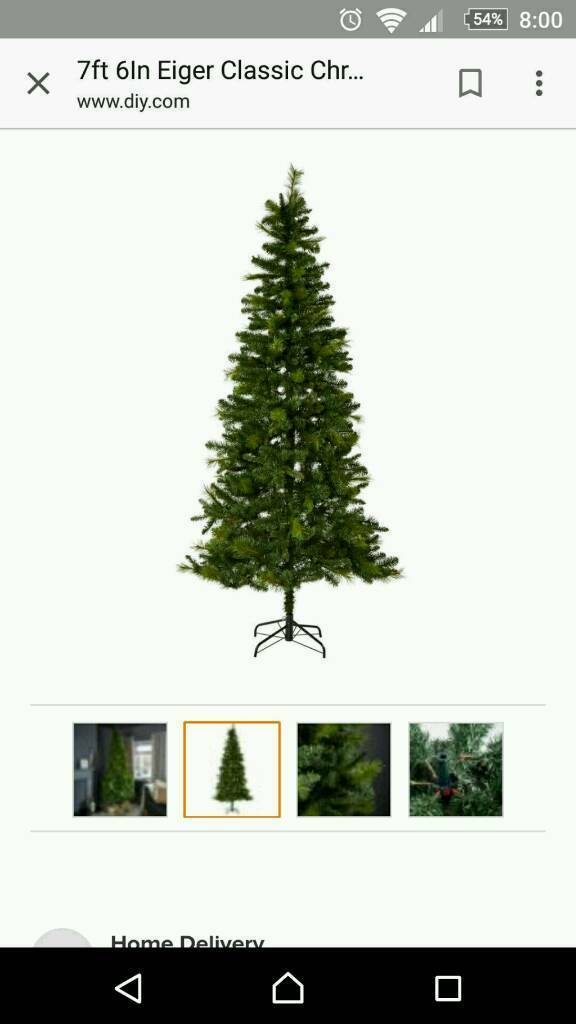 Eiger 7 ft 6 Christmas tree