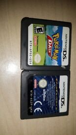 Two Nintendo DS games