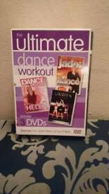 3dvd dance workout dvd boxset