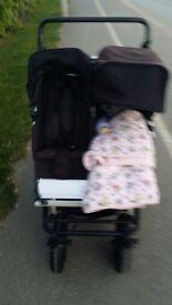 Mountain buggy double