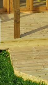 Decking and garden buildings services