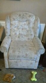 2 hand recliners chair excellent condition 1yr old